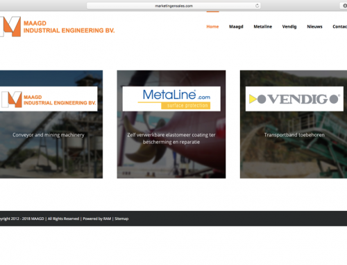 Nieuwe website Maagd Industrial Engineering
