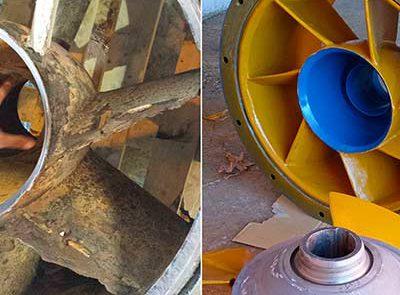 Erosie reparatie Metaline